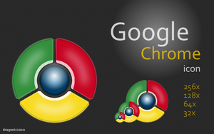 Google Chrome Icon by dragonic2020