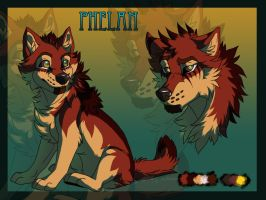 Phelan Ref Sheet by Kilioka