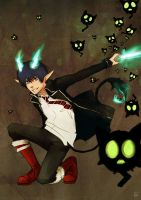 Ao No Exorcist by EmjayxD