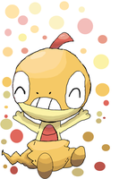 Happy Scraggy by Kat-The-Piplup