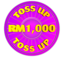 Wheel of Fortune - RM1,000 Toss Up Icon by darellnonis