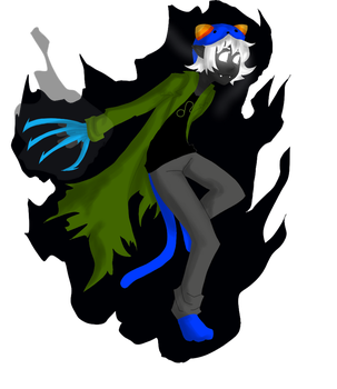 Homestuck by Eganov on DeviantArt Grimdark Eridan