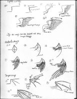 How to draw wings by rocknro8907