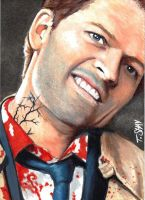 Castiel - Leviathan Supernatural Sketch by Dr-Horrible