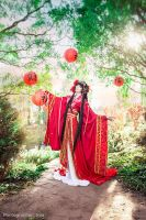 The Bride of Water God by photographer-eva