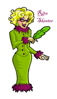 rita skeeter by blastedgoose
