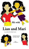 Life with Lian and Mari by WhatsTheLocamotion
