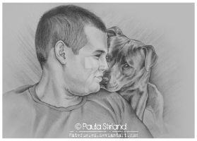He Loves His Staffie by hatefueled