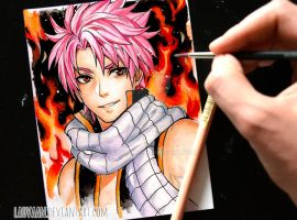 Natsu Dragneel - Fairy Tail by Laovaan