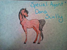 Special Agent Scully by ilove-horses