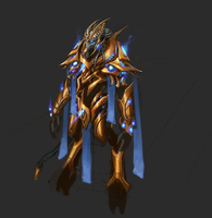 Protoss High Templar by artquest7