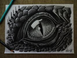 The Eye of the Reptile by Kriscorpion