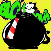BLOAToons - Felix the Cat by AxleGrease-75