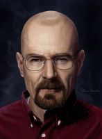 Bryan Cranston Breaking Bad by Patricia-Crvl