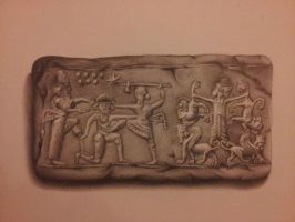 Clay tablet by shell31