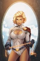 Powergirl by Eddy-Swan