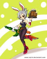LOL : Battle Bunny Riven by Rud-K