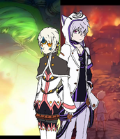 Elsword - Add and Eve by GameBoy224