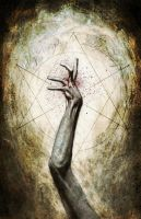 Horror out of Arkham the hand by menton3