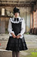 New Gothic Lolita 1 by Kechake-stock