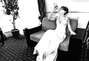 Boozy Bride by gdphotography