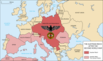 Map of the Austrian Reich by Martin23230