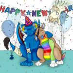 Happy New Year 2008 from neo by lunar-mist