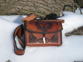 Leather Satchel by Kodo23