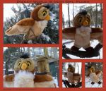 Disney World 8 Inch Owl Plush by DoloAndElectrik