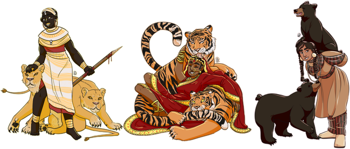 Lions And Tigers And Bears by daniemblem