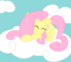 Sleeping On a Cloud... by Here-for-the-ponies
