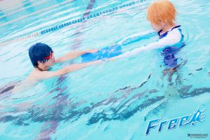 Cosplay  FREE! Nagisa Rei Teaching by Smallkaori
