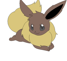 eevee animation first try by twinlightownz