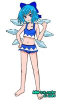Cirno Summer Mode by MMrailgun