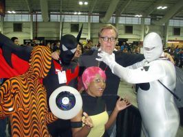 Batman Beyond costumers at NYCC 2011 by BatmanBeyondfan2009