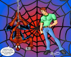 Peter Parker - Spiderman by luciano90lmg2