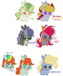 Pony Adopts by KitCatKombo