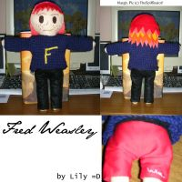Fred Weasley Plushie by TheSpiffinator