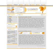 Web Template 2.0 by synthes