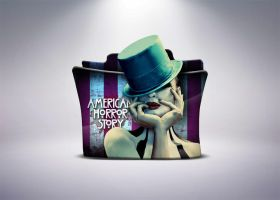 American Horror Story 4 Folder Icon by stavrosvran