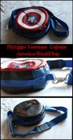 Captain America Shield Bag by TheGoddess908