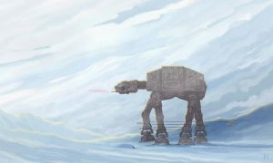 AT-AT Walker Takedown by McQuade