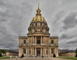 Dome des Invalides by Eusebius-fr