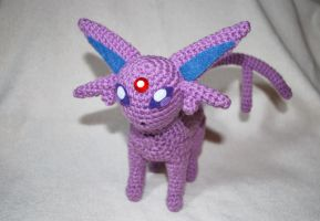 Espeon by craftyhanako