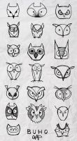 Buho Owlies by yolque