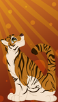 Tiger Background- Free to Use by CursedFire
