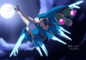 Commission: Mecha Latios