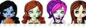 My MHOC Ghouls in Lunaii by Hasana-chan