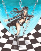 Black Rock Shooter by mangaka101