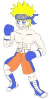 request- Naurto Uzumaki as a boxer-color by ravenf6
